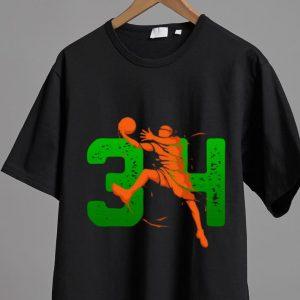 Nice 34 Player Milwaukee Basketball Lovers shirt 1
