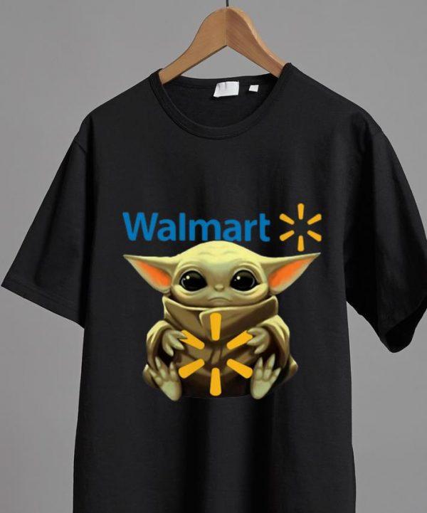 Nice Star Wars Baby Yoda Hug Walmart shirt