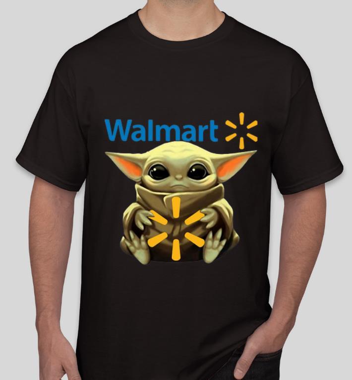 Nice Star Wars Baby Yoda Hug Walmart shirt 4 - Nice Star Wars Baby Yoda Hug Walmart shirt