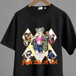 Official Fight Like A Girl Harley Quinn shirt