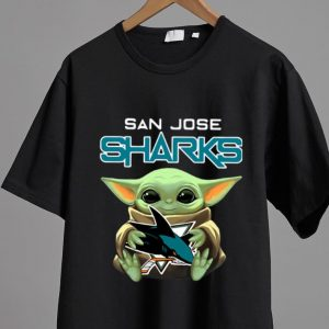 Premium Star Wars Baby Yoda Hug San Jose Sharks shirt