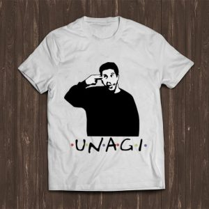 Pretty Ross Geller Unagi Friends shirt
