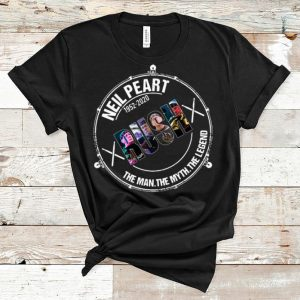 Top Neil Peart 1952 2020 Rush The Man The Myth The Legend shirt
