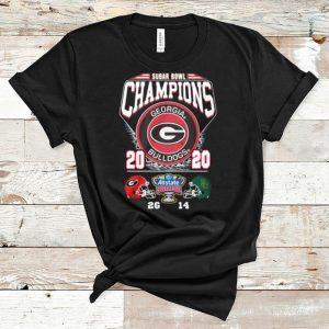 Top Sugar Bowl Champion 2020 Georgia Bulldogs shirt