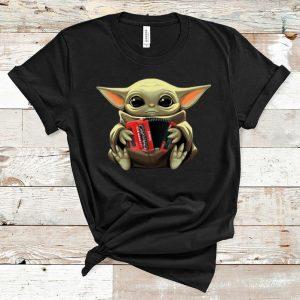 Awesome Baby Yoda Hug Accordion shirt
