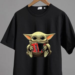 Awesome Baby Yoda Hug Accordion shirt 1