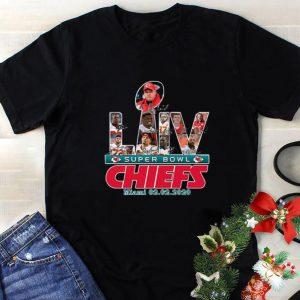 Funny Kansas City Chiefs LIV Super Bowl Chiefs Miami 20.02.2020 shirt