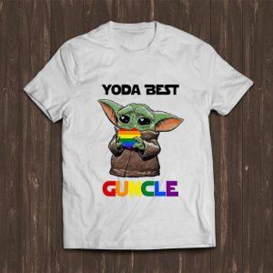 Hot Baby Yoda Lgbt Best Guncle shirt