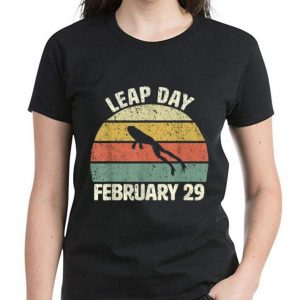 Hot Leap Day Frog February 29 Vintage shirt 2