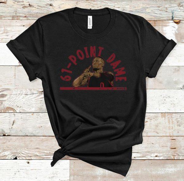 Nice 61 Point Dame Lillard shirt