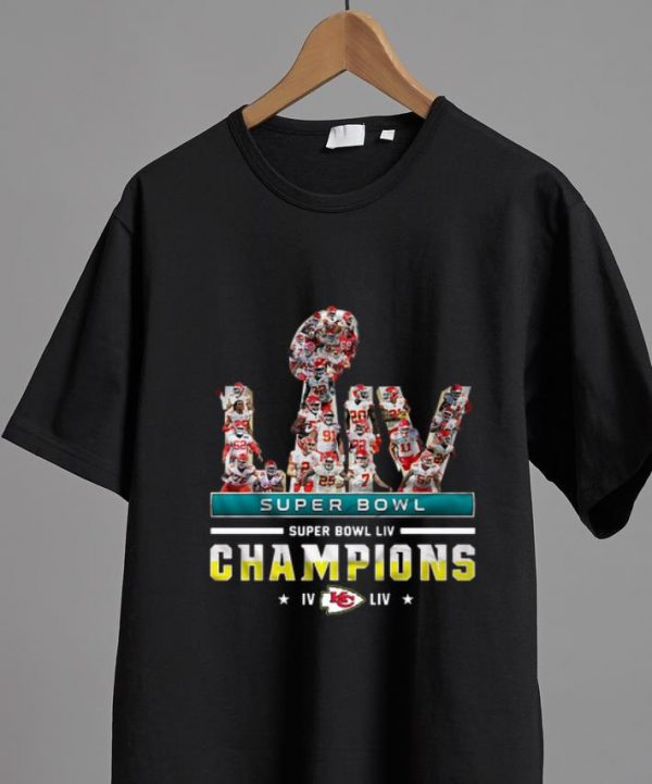 Nice Super Bowl LIV Champions Kansas City Chiefs shirt