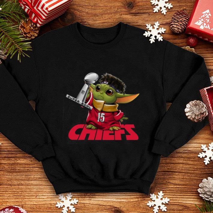 Premium Baby Yoda Mashup Patrick Mahomes Super Bowl Kansas City Chiefs shirt 4 - Premium Baby Yoda Mashup Patrick Mahomes Super Bowl Kansas City Chiefs shirt