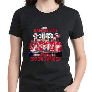 Premium Kansas city 31 – 20 San Francisco 49ers home of the super bowl champions 2020 shirt 2