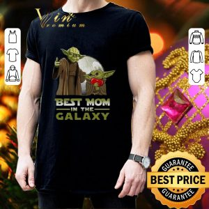 Premium Master Yoda And Baby Yoda Best Mom In The Galaxy Star Wars shirt 2