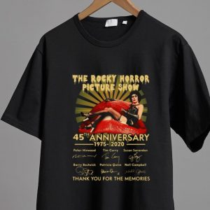 Premium The Rocky Horror Picture Show 45th Anniversary 1975-2020 Signature shirt