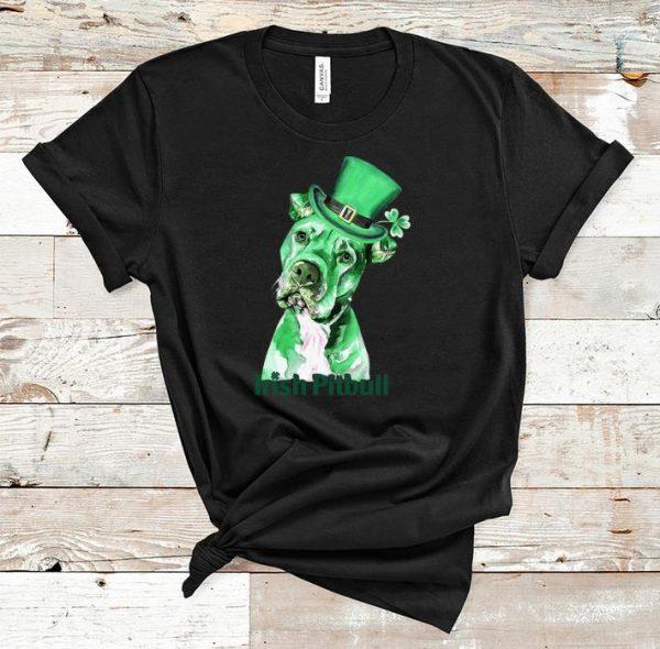 Premium irish pitbull st patrick's day shirt