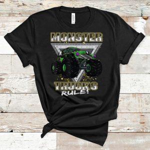 Pretty Monster Trucks Rule shirt