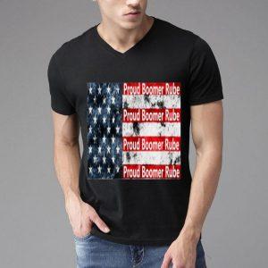 Proud Boomer Rube Trump 2020 American Flag shirt