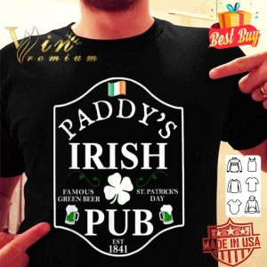 St. Patrick's Day BEER MENS PADDY'S IRISH PUB shirt