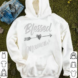 Awesome Blessed Mamaw Thanksgiving - Funny Mother & Wife Gift shirt