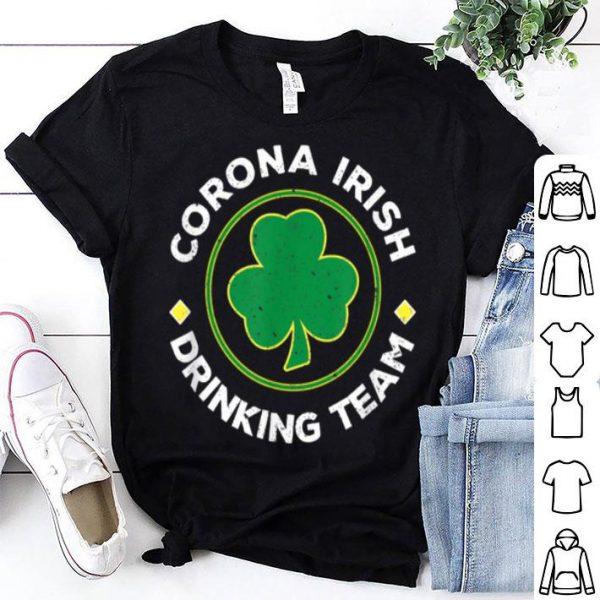 Awesome Corona Irish Drinking Team St. Patrick's Day Tee shirt