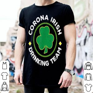 Awesome Corona Irish Drinking Team St. Patrick's Day Tee shirt