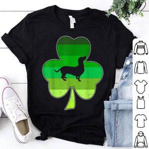 Awesome Dachshund Lover St. Patricks Day Vintage Shamrock shirt