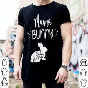 Awesome Mama Bunny Cute Easter Pregnancy Announcement shirt