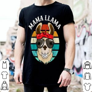 Beautiful Mama Llama Cute Alpaca Animal Themed Mother's Day Apparel shirt