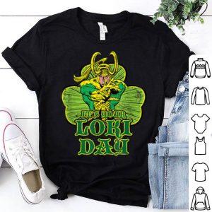Nice Marvel It's Your Loki Day St. Patrick's Day Shamrock shirt