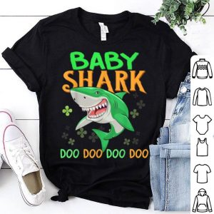 Official Baby Shark Doo Doo Doo St Patricks Day Irish Shamrocks shirt