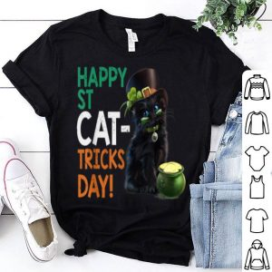 Official Cat Irish Happy St Patrick's Day Funny Cat Lover shirt