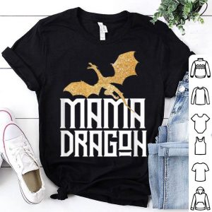 Official Mama Dragon Matching Family Tribe Mom Mother shirt