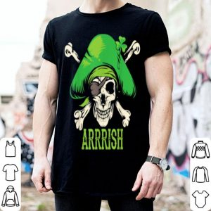 Original Arrrish Irish St Patricks Day Pirate Men Funny Gift shirt
