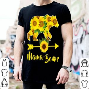Original Mama Bear Sunflower Gift Funny Mothers Day Mom And Aunt Gift shirt