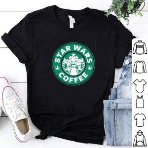 Premium Baby Yoda Star Wars Coffee Starbucks logo shirt