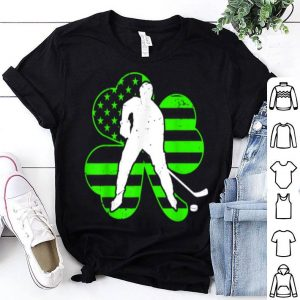 Pretty Irish American Hockey Flag St Patricks Day Kid Gift shirt