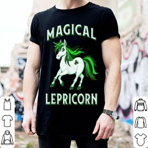 Pretty Magical Lepricorn - Funny St. Patrick's Day Shamrock Irish shirt