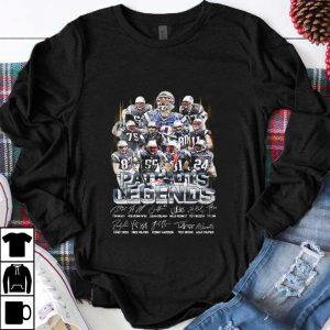Pretty New England Patriots Legends Team Players Signatures shirt