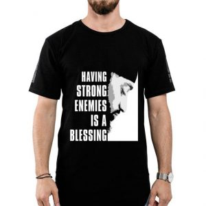 Rip Nipsey Hussle Crenshaw Having Strong Enemies is a Blessing shirt