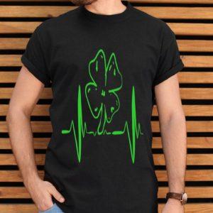 St. Patricks Day Nurse- Shamrock Heartbeat shirt