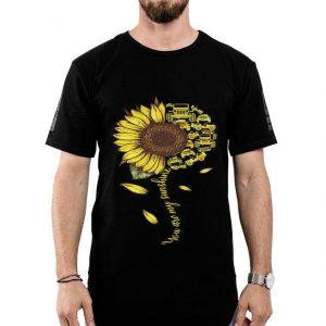 Sunflower You are my sunshine Jeep cars shirt