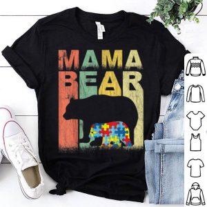 Top Autism Awareness Mama Bear Support Autistic Autism Mom shirt