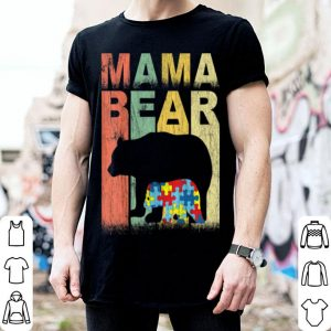 Top Autism Awareness Mama Bear Support Autistic Autism Mom shirt