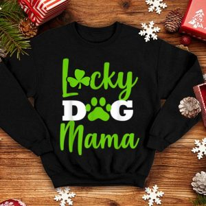 Top Dog Mom St Patricks Day Lucky Mama Pug Dachshund shirt
