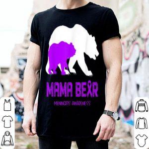 Top Mama Bear Meningitis Awareness For Women Men shirt