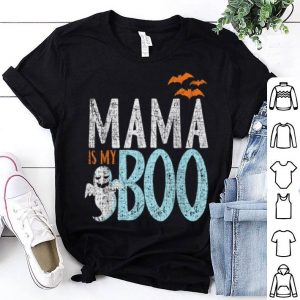Top Mama Is My Boo Funny Hallowen Kids Teens shirt
