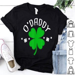 Top St Patricks Day Pregnancy Announcement Matching Couple shirt