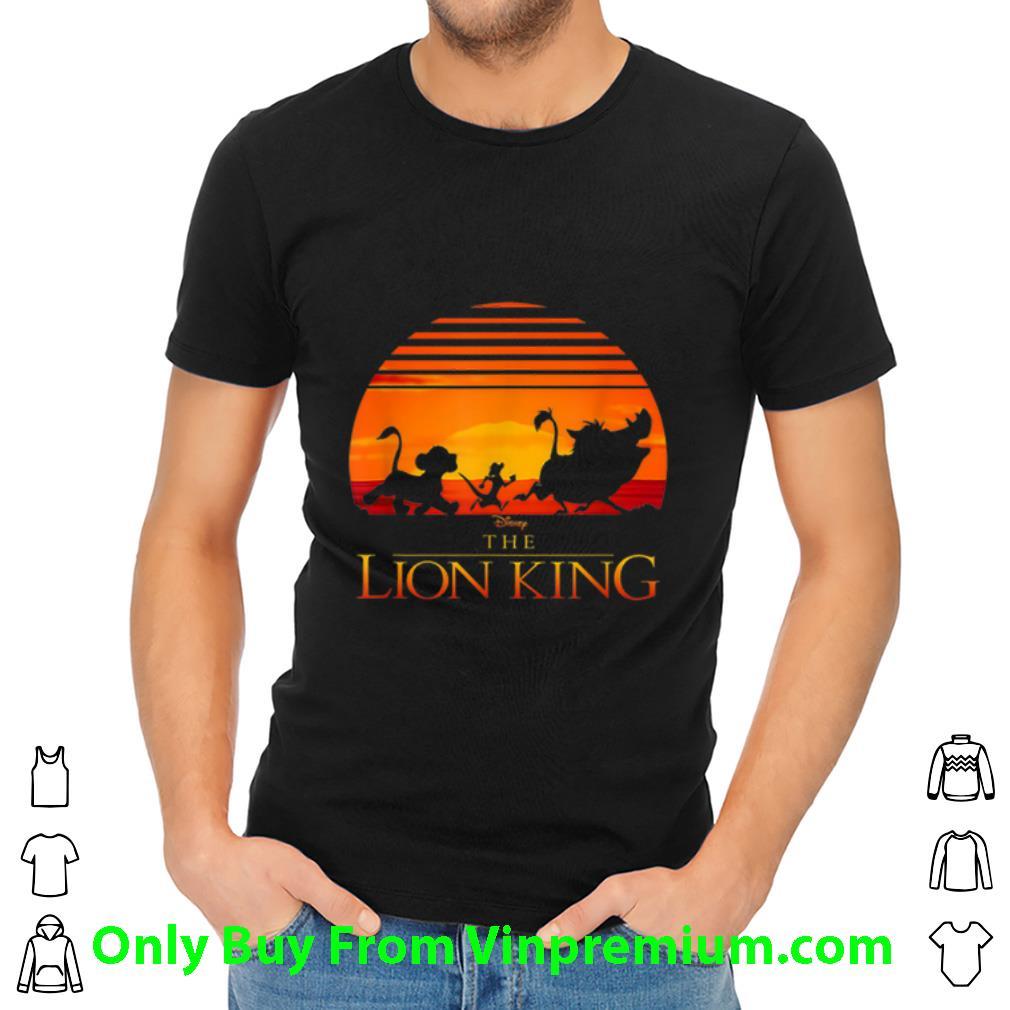 Awesome Disney Lion King Sunset shirt