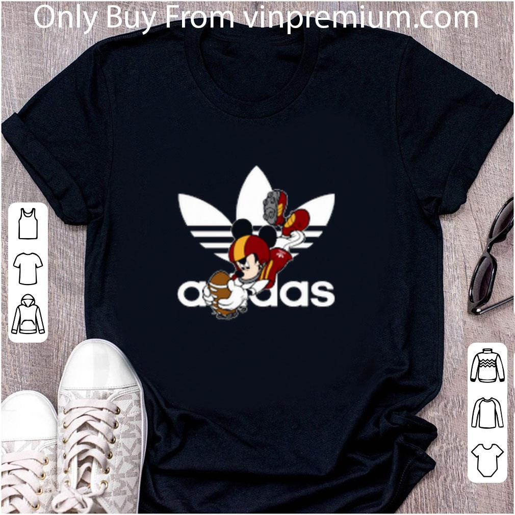 Awesome Adidas Logo Rugby Mickey Mouse Disney Hoodie shirt